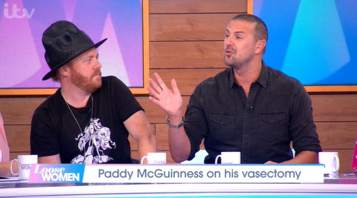 Keith Lemon and Paddy McGuinness