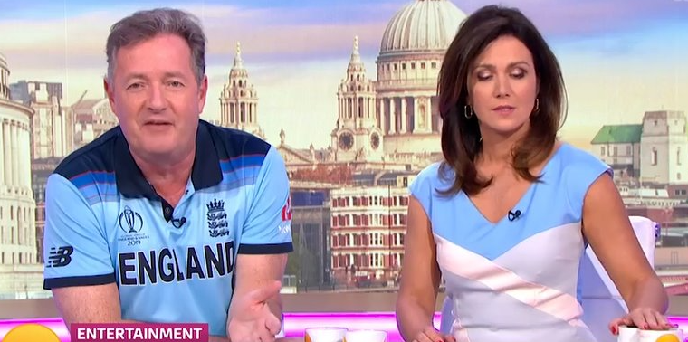 Piers Morgan taken off air after slamming Good Morning Britain director