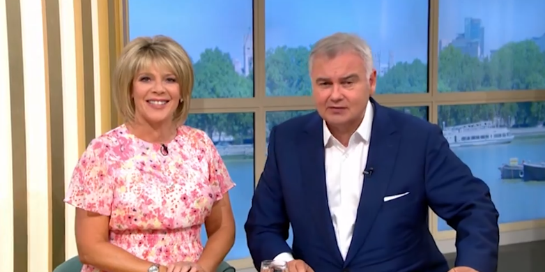 Eamonn Holmes welcomes Ruth Langsford back to This Morning after sister's death