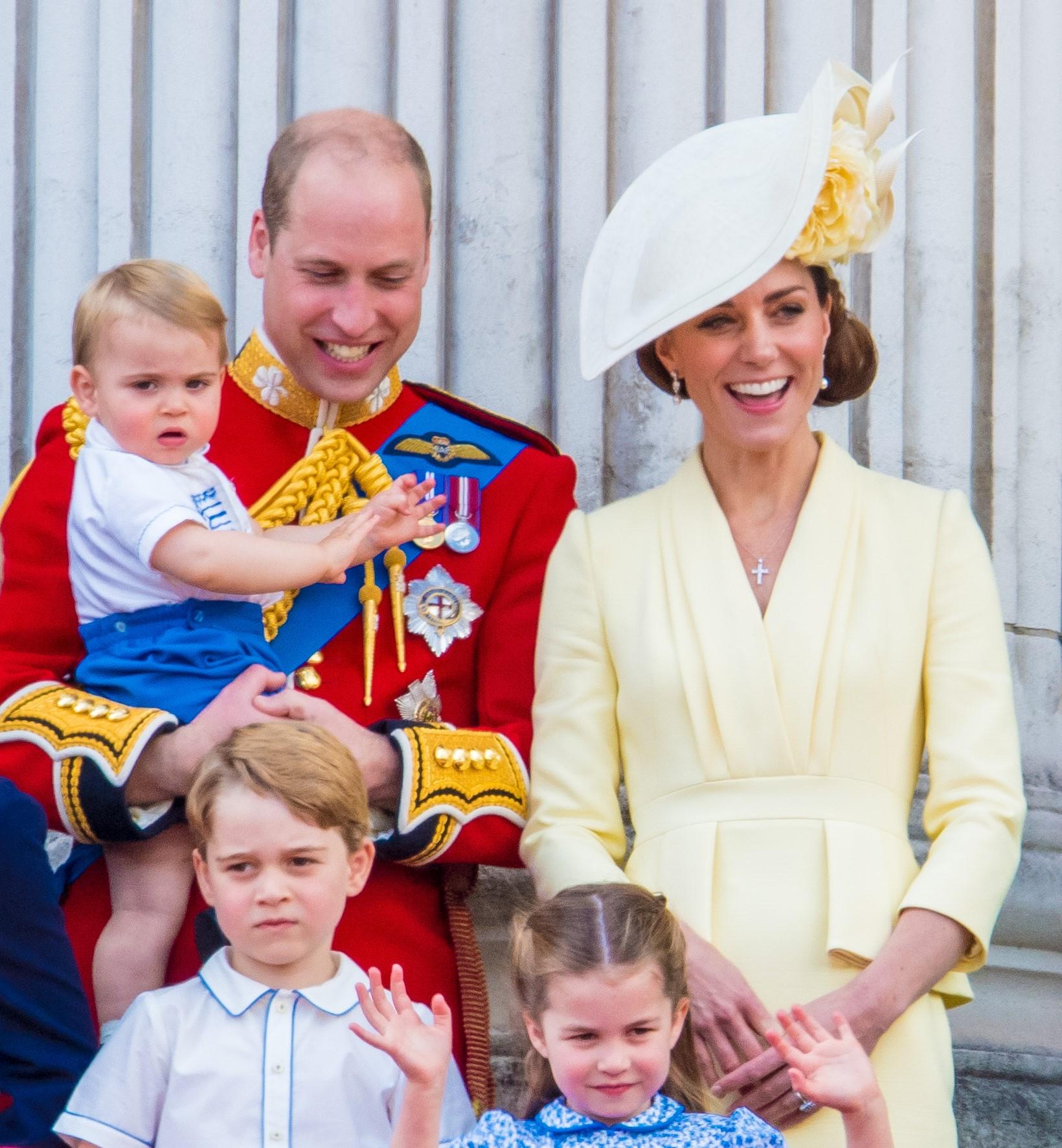The royals are enjoying a summer break
