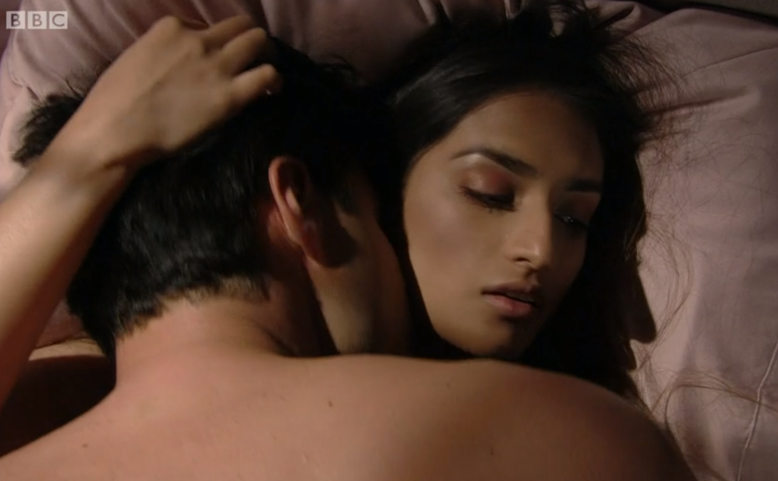 EastEnders viewers shocked at Adam and Habiba's steamy X-rated scene