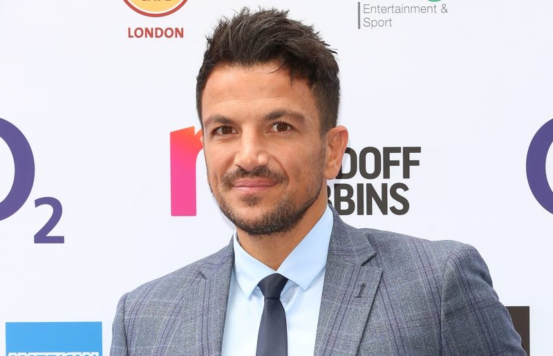 Peter Andre shocks with his morning TV 'sex joke' to wife Emily