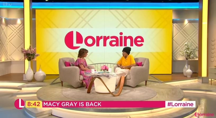 Lorraine Kelly and Macy Gray