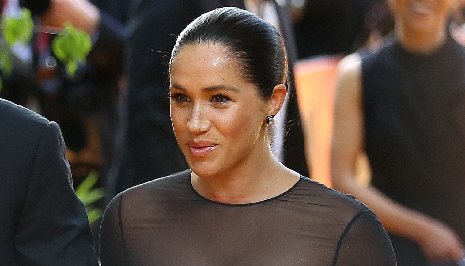Fans convinced Meghan admitted struggles of public eye in video at Lion King premiere