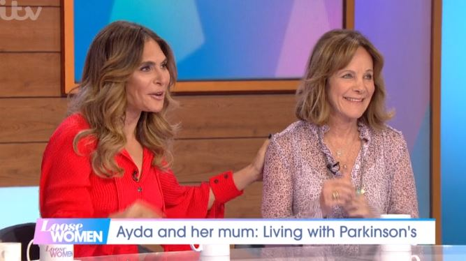 Ayda Field reveals struggles over mum's  Parkinson's diagnosis on Loose Women