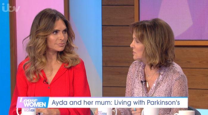Ayda Field and mum Loose Women