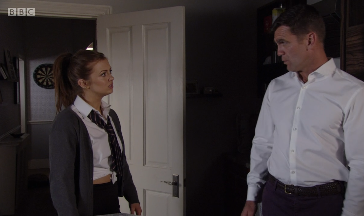 EastEnders viewers slam 'liberal' Walford High for allowing Tiffany's uniform