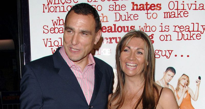 Vinnie Jones' 'wonderful, courageous' wife Tanya laid to rest in 'beautiful service'