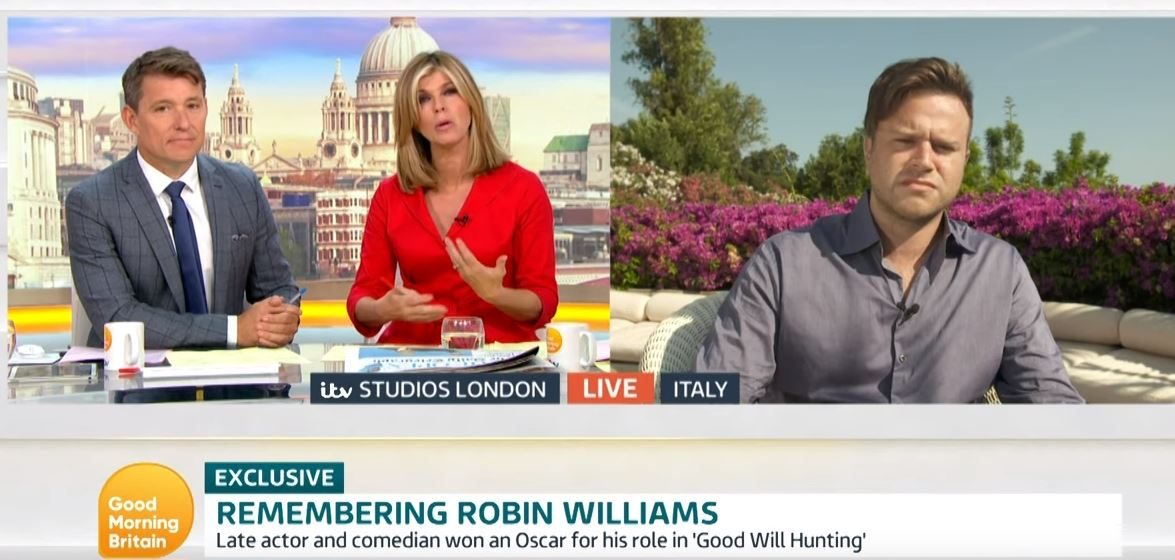 Robin Williams' son Zak GMB
