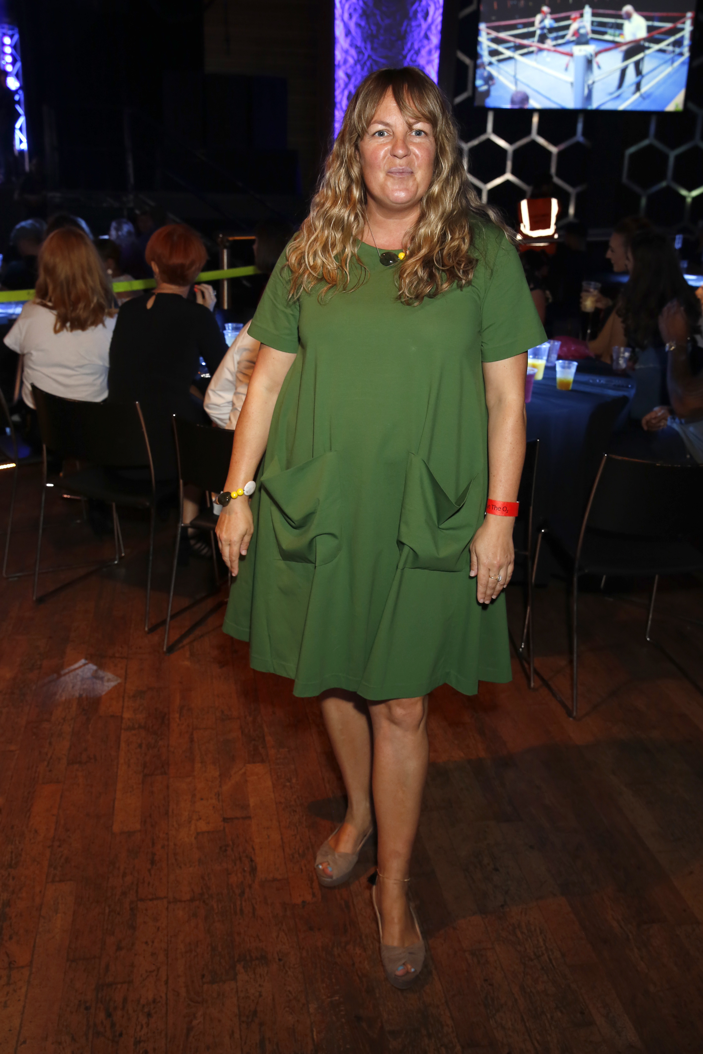 Blue Moon Boxing Event In London Lorraine Stanley
