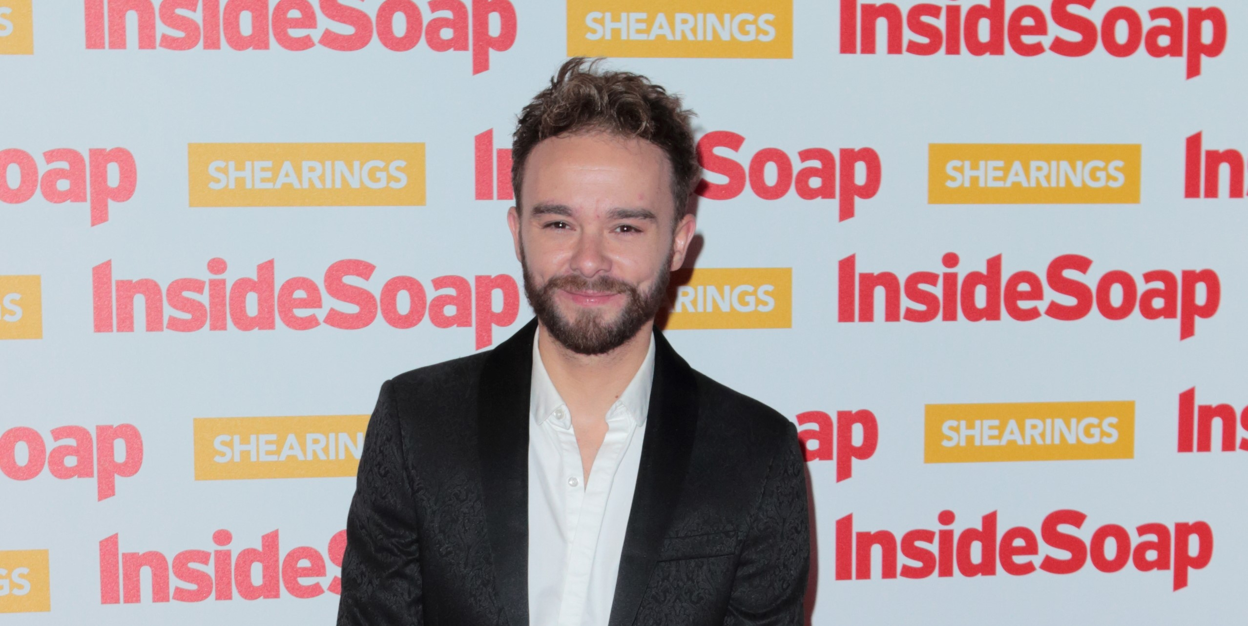 Coronation Street star Jack P. Shepherd's five-year-old son following in his footsteps