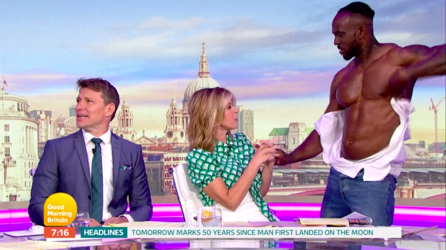 Good Morning Britain blasted for 'hypocrisy' over sexist segment