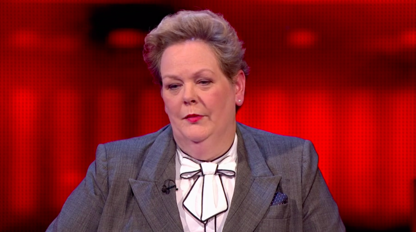 I'm A Celeb's Anne Hegerty snaps at viewer who criticises The Chase