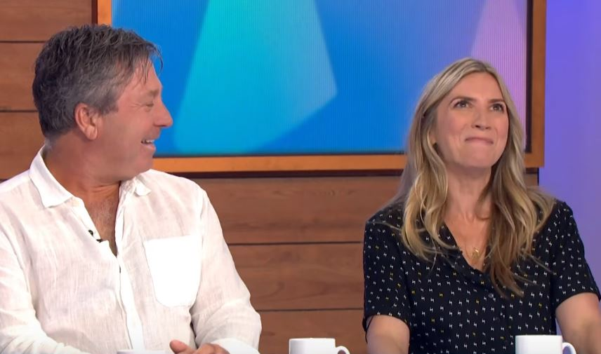 "Former EastEnders star Lisa Faulkner reveals John Torode's ""very romantic"" proposal left her ""mortified"""