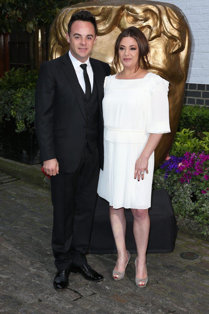 Ant McPartlin and Lisa Armstrong