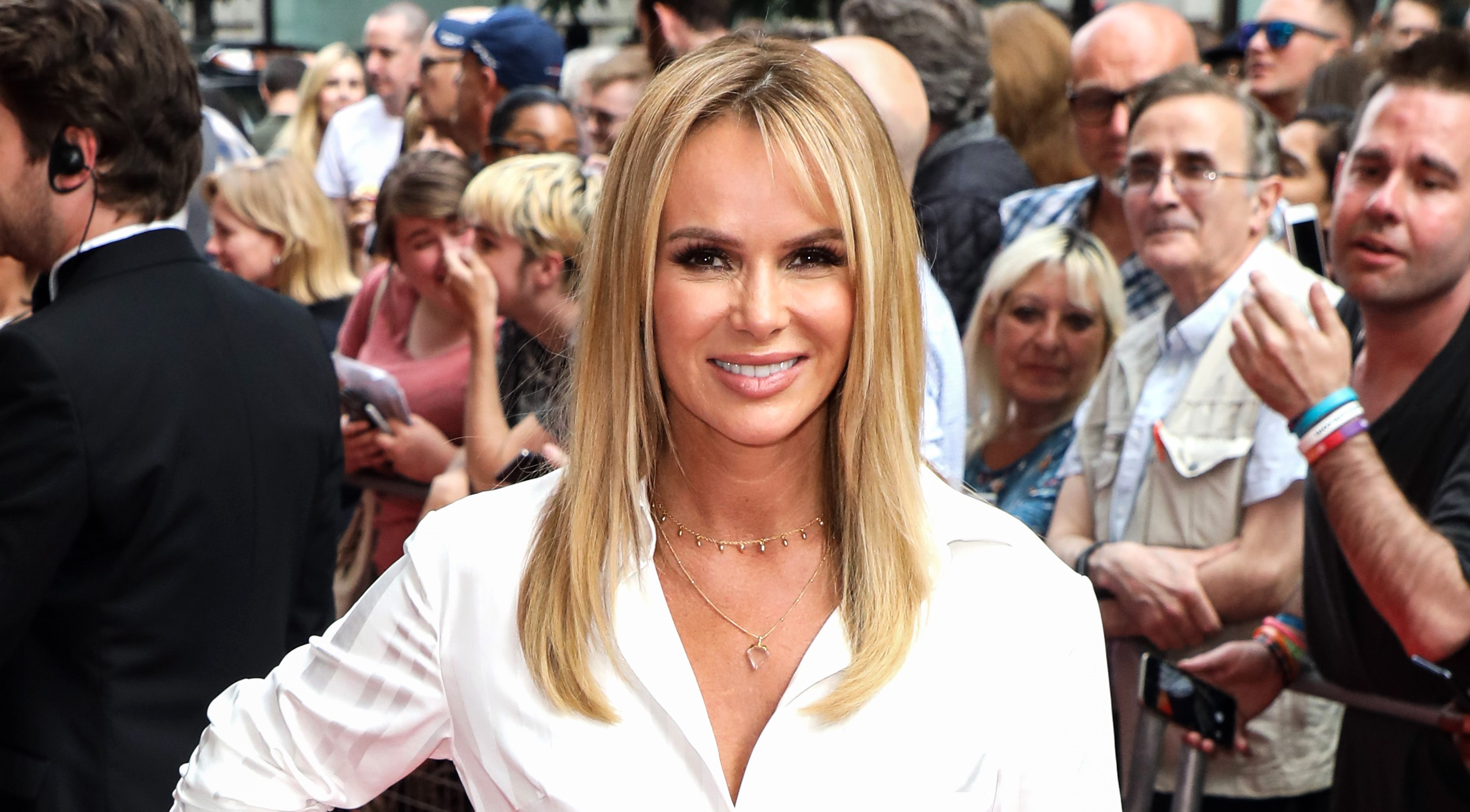 Amanda Holden defends her revealing Britain's Got Talent outfits