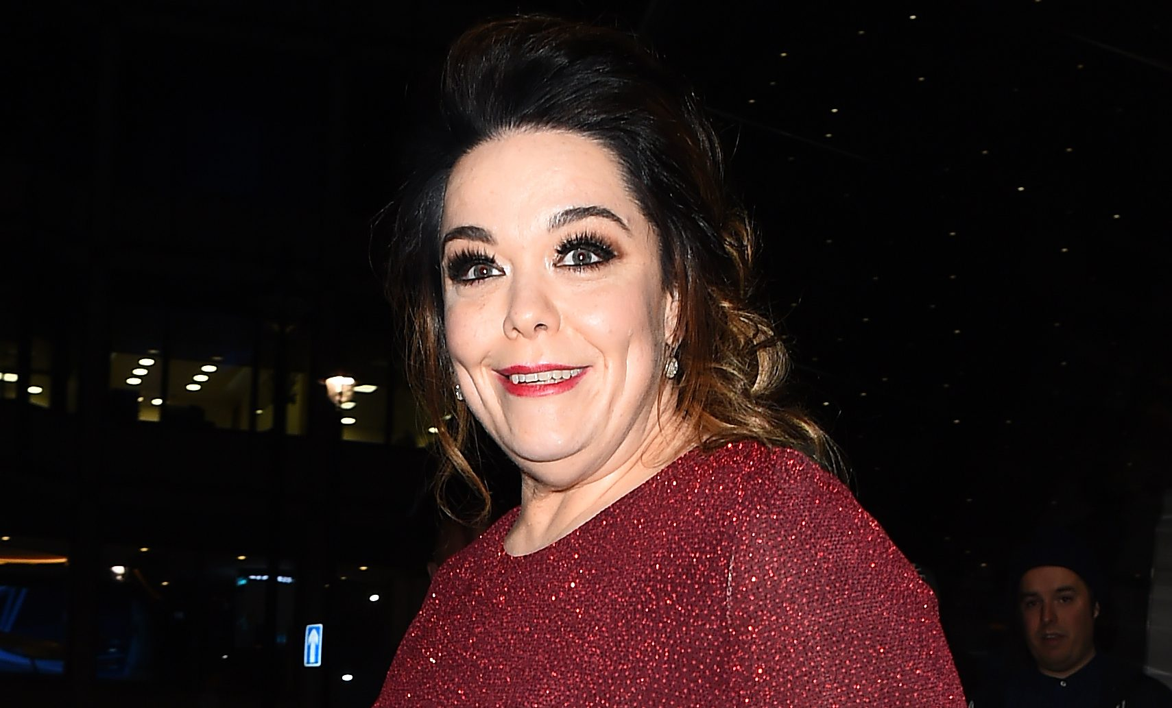 "Emmerdale's Lisa Riley pays emotional tribute to ""angel"" mum at niece's Christening"