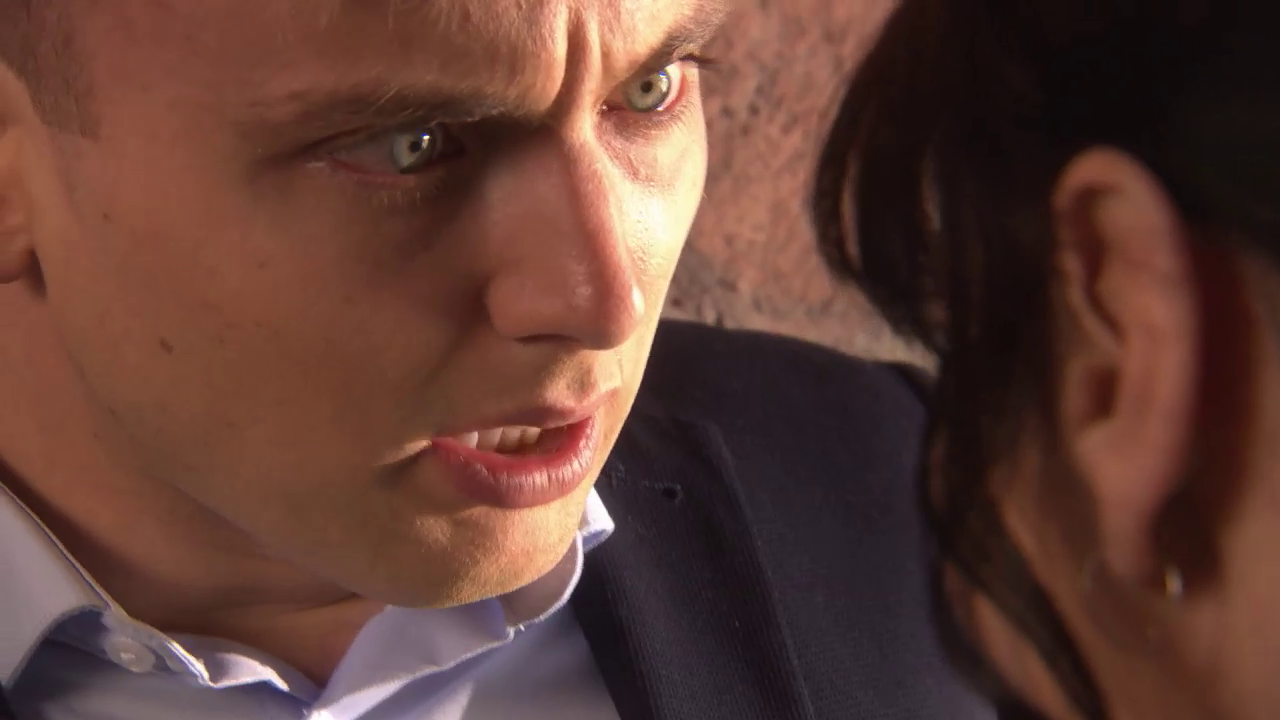 Hollyoaks Harry is murdered by Breda Credit: Lime Pictures/Channel 4