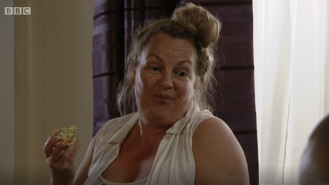 EastEnders fans aren't impressed with Karen Taylor's new romance