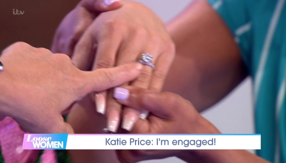Katie Price engaged for fourth time after Kris Boyson proposal