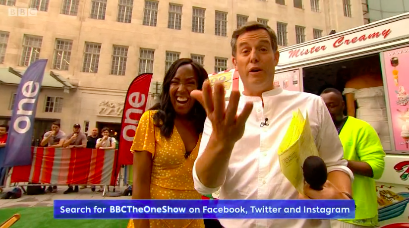 The One Show's Matt Baker makes series of blunders on live TV show