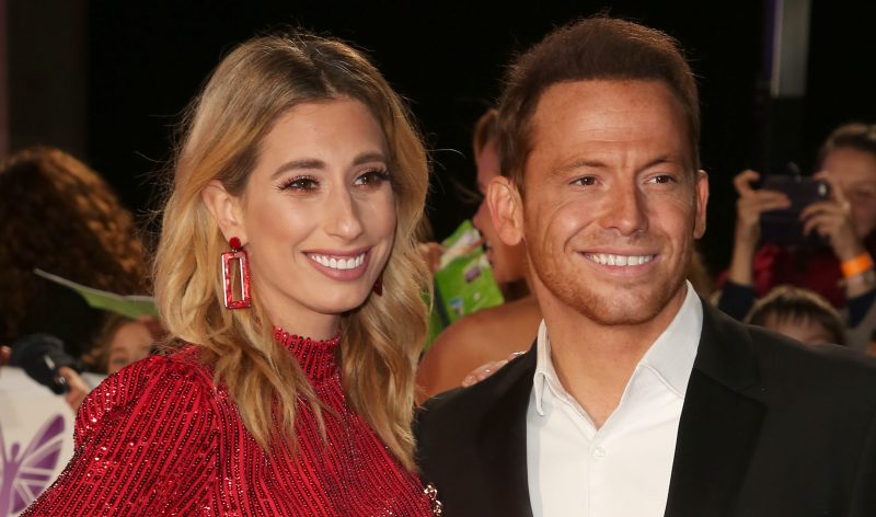 Stacey Solomon pokes fun at Joe Swash's eye bags as she shares cute new family photo