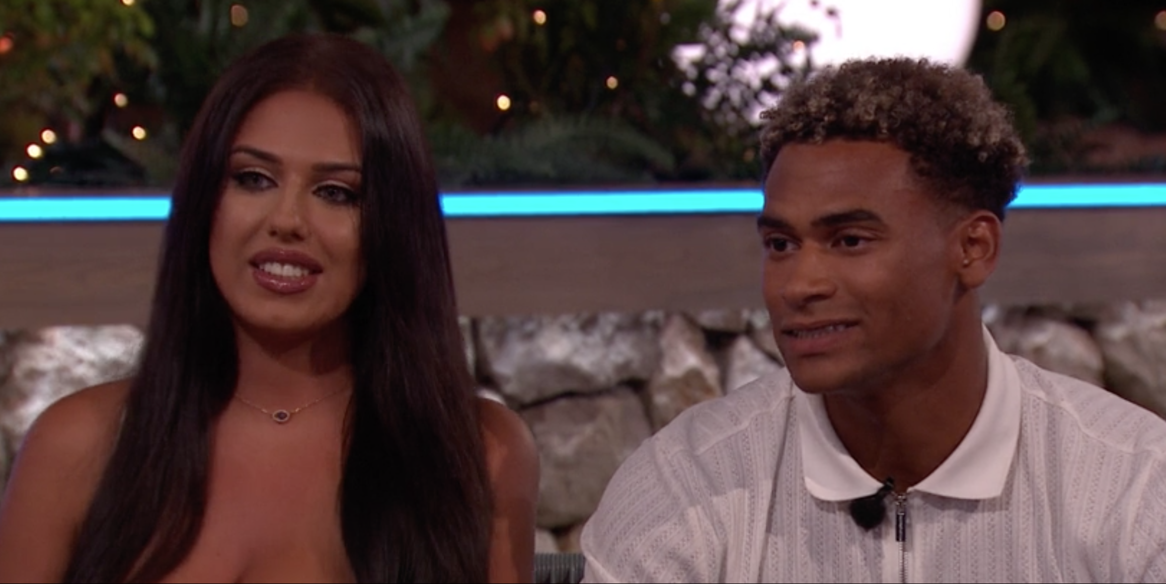 Love Island's Anna and Jordan embroiled in blazing row as they reunite on Aftersun
