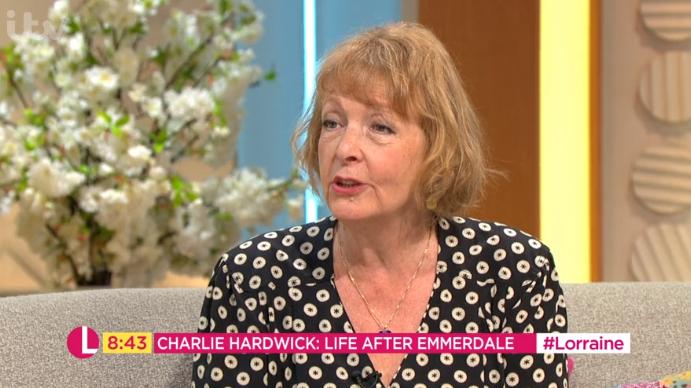 Emmerdale and Ackley Bridge star Charlie Hardick Lorraine Credit: ITV