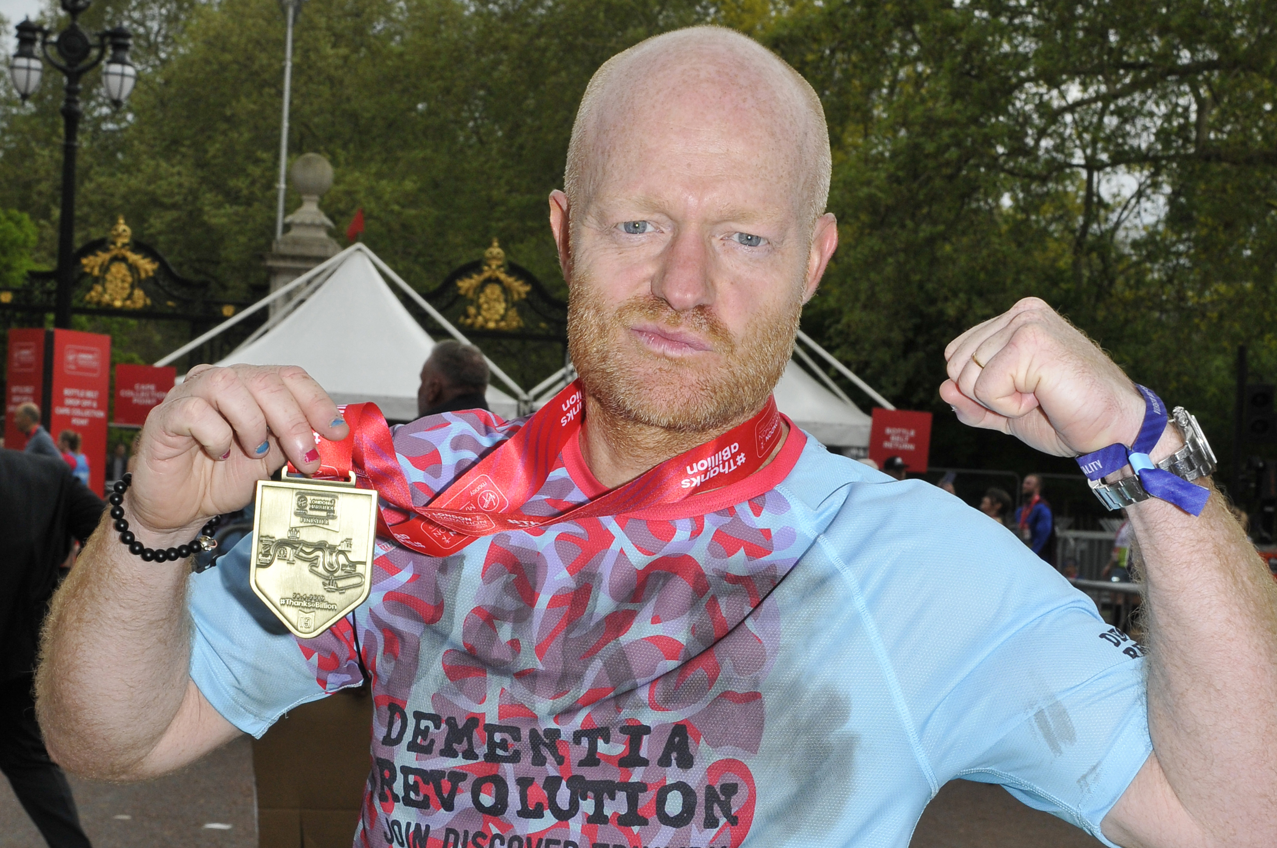 EastEnders star Jake Wood shares sweet photo from family holiday