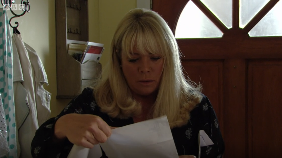 EastEnders viewers question why Sharon didn't use a shredder to get rid of DNA results