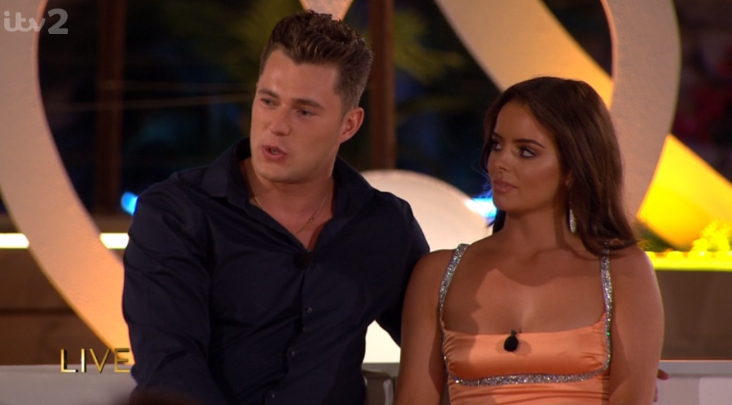 Love Island's Curtis and Maura reveal REAL reason they didn't have sex in villa