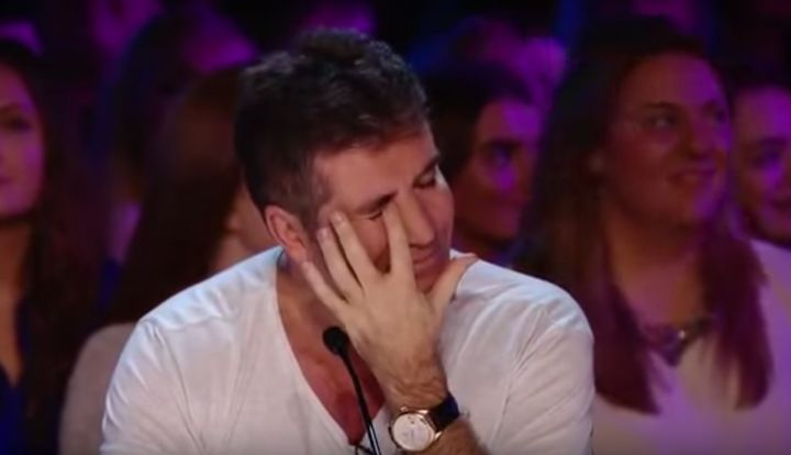 Simon Cowell sobs as he reunites with BGT star whose £175K spine op he funded