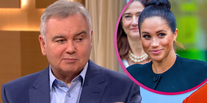 Eamonn Holmes threatens to sue troll who brands him 'racist' over Meghan comments