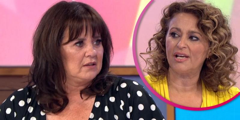 Coleen Nolan shocked as she jokes Nadia Sawalha called her 'fat' on Loose Women