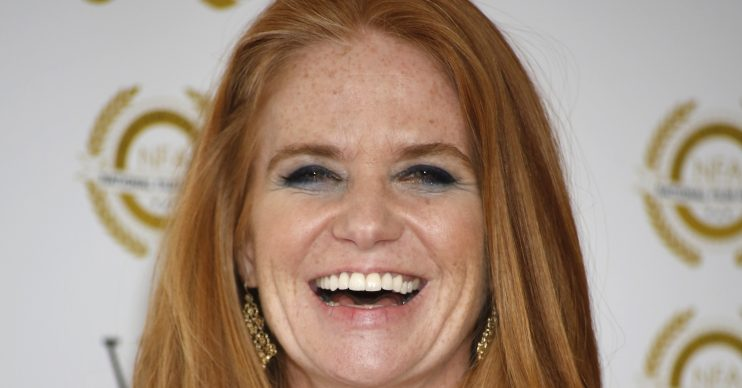 Celebrity arrivals at the National Film Awards 2018 at Porchester Hall in London, UK. WORLDWIDE RIGHTS Pictured: Patsy Palmer Ref: SPL4189472 280318 NON-EXCLUSIVE Picture by: Andy Barnes / Flynet - SplashNews / SplashNews.com Splash News and Pictures Los Angeles: 310-821-2666 New York: 212-619-2666 London: 0207 644 7656 Milan: +39 02 56567623 photodesk@splashnews.com World Rights