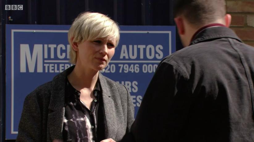 Hannah Daniel as DC Morgan in EastEnders