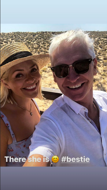 holly phil dan (Credit: schofe Instagram)
