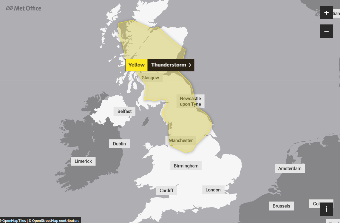 Met Office issue 'danger to life' storm warnings