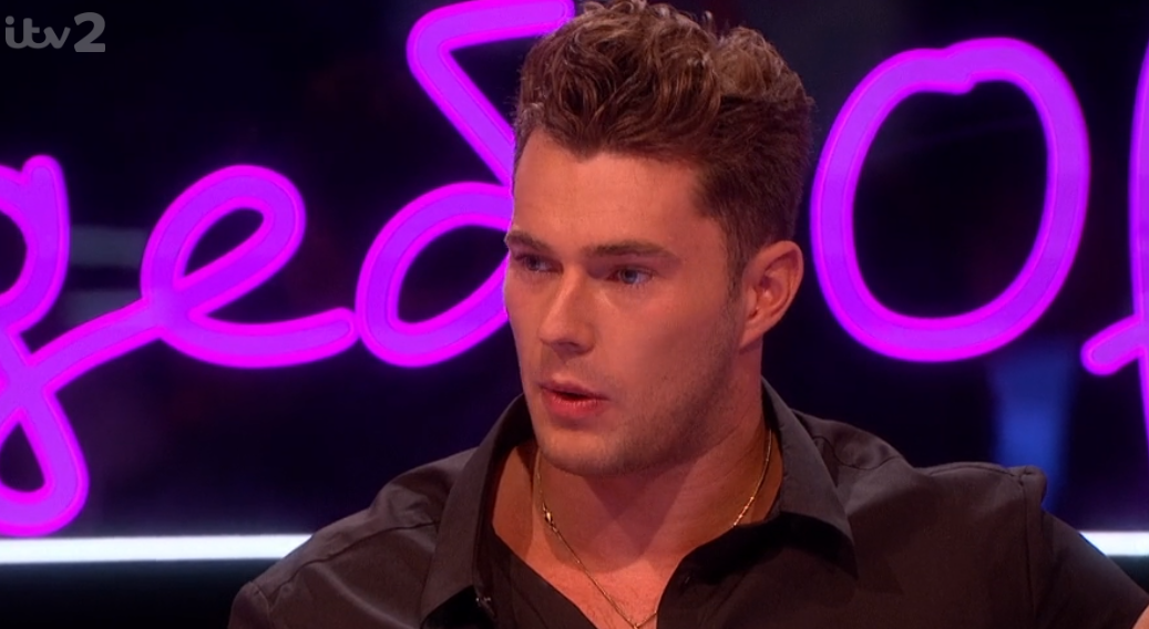 Love Island's Curtis Pritchard reveals he's open to dating a man