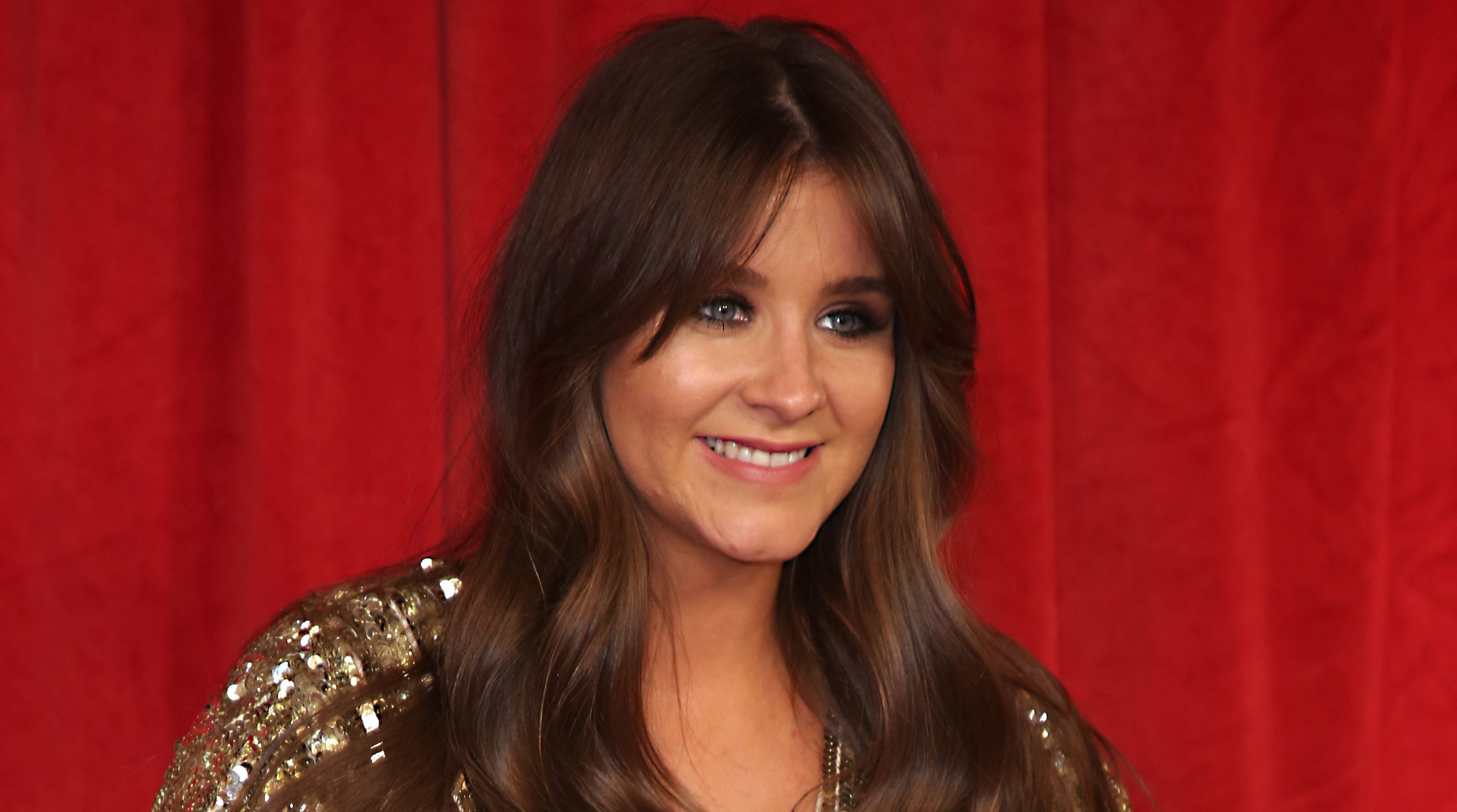 Pregnant Brooke Vincent shares cute baby bump picture as maternity leave begins