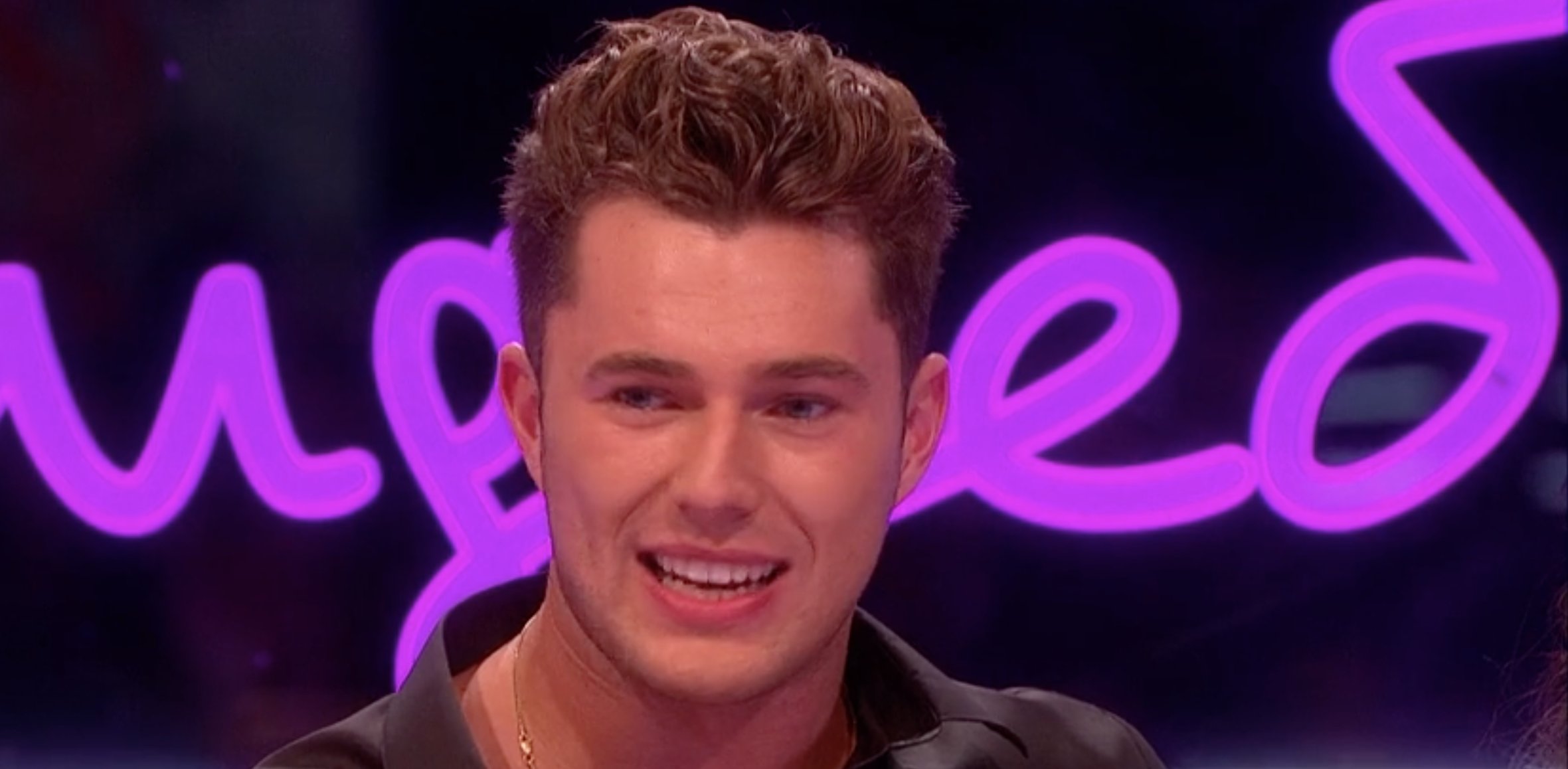 Love Island's Curtis Pritchard reveals he gained 'two stone' in the villa