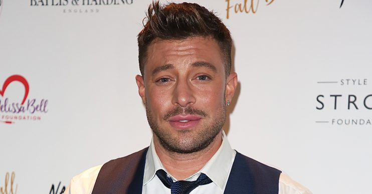 The Fall Ball 2018, Cafe de Paris, London UK, 14 October 2018, Photo by Brett D. Cove Pictured: Duncan James Ref: SPL5033336 141018 NON-EXCLUSIVE Picture by: Brett D. Cove / SplashNews.com Splash News and Pictures Los Angeles: 310-821-2666 New York: 212-619-2666 London: 0207 644 7656 Milan: +39 02 56567623 photodesk@splashnews.com World Rights