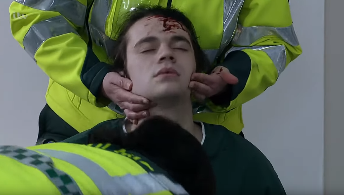 Coronation Street viewers question Seb's injuries after attack
