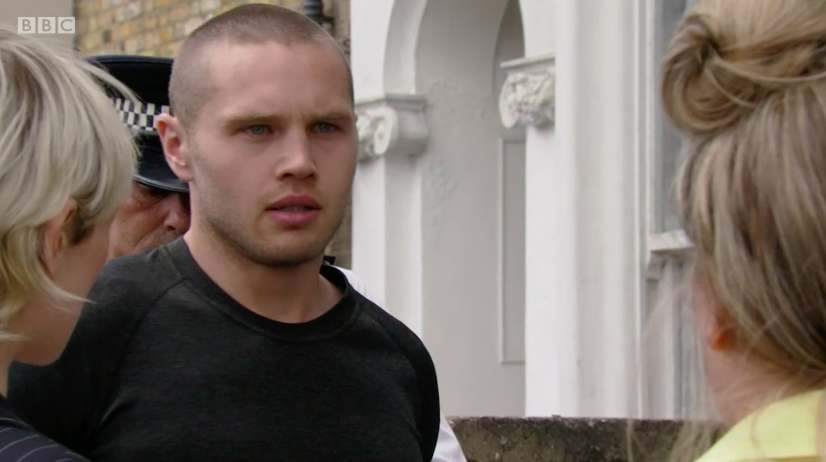 EastEnders fans slam soap for 'scraping the barrel' after Keanu is arrested for assaulting Phil