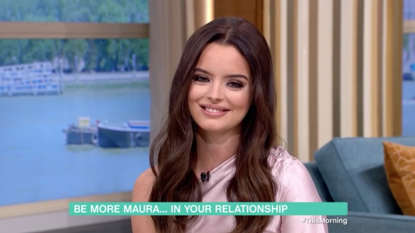 Maura Higgins praised by viewers for her agony aunt debut on This Morning