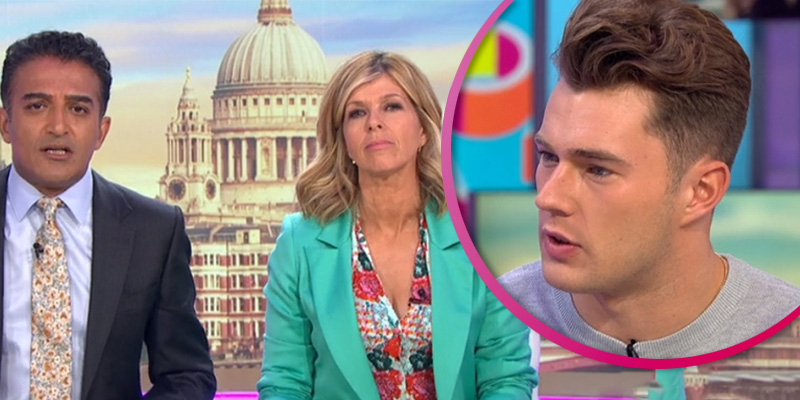 Adil Ray and Kate Garraway slammed for pressing Love Island's Curtis over sexuality
