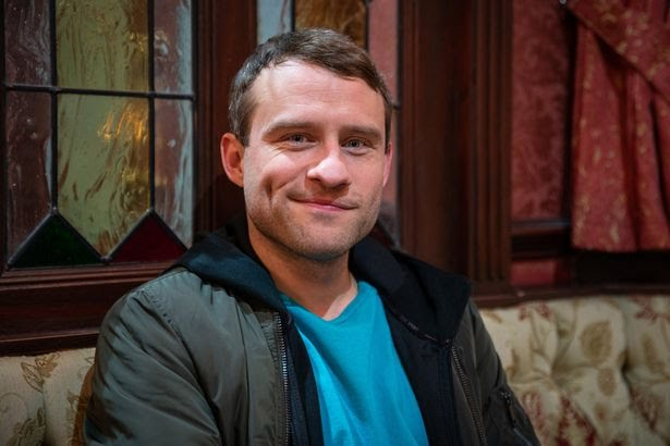 Peter Ash plays Paul in Corrie