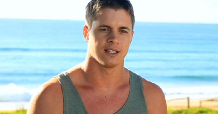 Johnny Ruffo as Chris Harrington in Home And Away