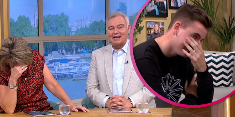 Eamonn Holmes horrifies son Jack with sex joke as he joins parents on This Morning