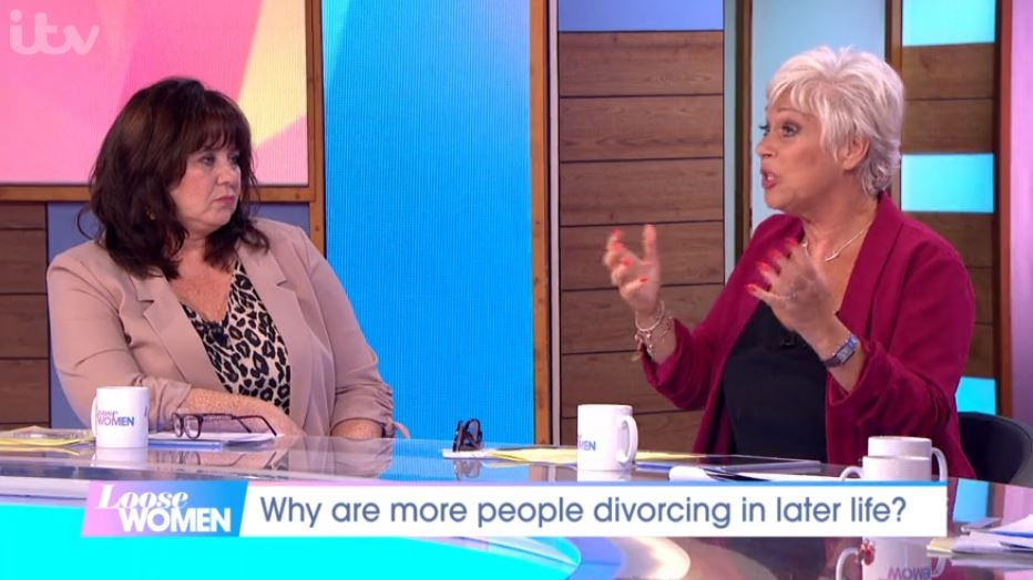 Loose Women's Coleen Nolan apologises as Denise Welch 'swears'